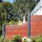 Sichtschutz zum Nachbarn aus Bambus